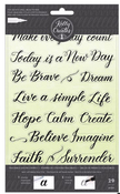 Quotes 2 Traceable Clear Stamps - Kelly Creates