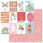 Sprout Card Paper - Spring In My Garden - Photoplay