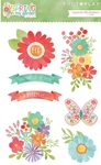 Spring In My Garden Layered Stickers - Photoplay
