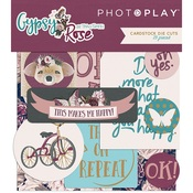 Gypsy Rose Die-cut Pack - Photoplay