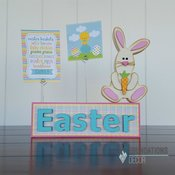 Easter Picture Holder Wood Kit