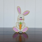 Easter Bunny Wood Kit