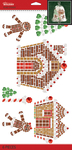 Gingerbread House Mega Bling - Jolee's Boutique Dimensional Stickers