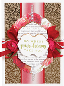 """Breanna's Corset Label 1.25"""" To 5.25"""" - Spellbinders Chantilly Paper Lace By Becca Feeken"""