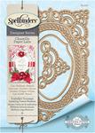 Annabelle's Trousseau Layering Frame Die - Spellbinders Chantilly Paper Lace By Becca Feeken