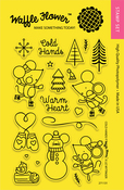 """Cold Hands - Waffle Flower Crafts Clear Stamps 4""""X6"""""""
