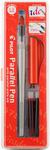 Black & Red Ink - Pilot Parallel Calligraphy Pen Set 1.5mm Nib