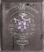 "Brigitte Tall, 27.6""X34"" - Iron Orchid Designs Decor Transfer Rub-Ons"