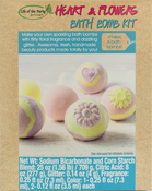 Heart & Flowers - Bath Bomb Kit - Makes 6