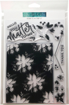 """Blooms Fill-In  - Concord & 9th Clear Stamps 6""""X8"""""""
