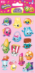 Shopkins Standard Stickers 4 Sheets