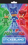 295+ Stickers - PJ Masks Stickerland Pad 4/Pages