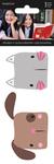 Dog & Cat Rhinestone Stickers 2/Pkg