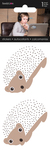 Hedgehogs Rhinestone Stickers 2/Pkg
