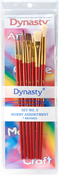 Hobby Assortment 7/Pkg - Dynasty Craft & Hobby Brush Sets