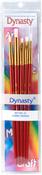 Fabric Design Assortment 5/Pkg - Dynasty Craft & Hobby Brush Sets