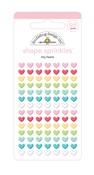 Tiny Heart Shape Sprinkles - So Punny - Doodlebug