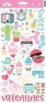 So Punny Icon Stickers - Doodlebug - PRE ORDER