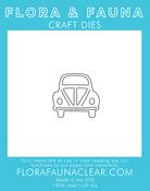 Volkswagon Car - Flora & Fauna Dies