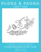 Holiday Foliage - Flora & Fauna Dies