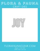 Joy Outline - Flora & Fauna Dies