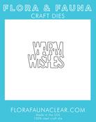 Warm Wishes - Flora & Fauna Dies