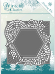 Mosaic Frame - Find It Trading Jeanine's Art Winter Classics Die