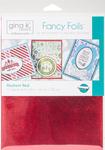 """Radiant Red - Gina K Designs Fancy Foil 6""""X8"""" 12/Pkg"""