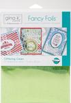 "Glittering Green - Gina K Designs Fancy Foil 6""X8"" 12/Pkg"