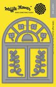 A2 Arch Window - Waffle Flower Die