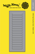 A2 Window Shutters - Waffle Flower Die