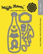 Champagne Pop - Waffle Flower Die