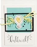 Love Set Match-Wink Wink - Spellbinders Stamp & Die Set By Debi Adams