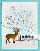 Four Seasons-Winter Canopy & Elements - Spellbinders Shapeabilities Dies By Lene Lok
