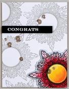 Good Vibes-Crystal - Spellbinders Stamp & Die Set By Stephanie Low