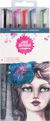Shipwrecked - Jane Davenport Mixed Media 2 Mermaid Markers 6/Pkg