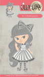 """Dressed Gorgeous 3.9""""X1.2"""" - Find It Trading Lilly Luna Die"""