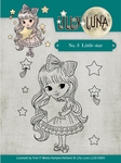 Little Star - Find It Trading Lilly Luna Clear Stamps