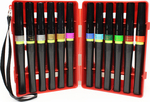 Holiday - Spectrum Noir Sparkle Markers 12/Pkg