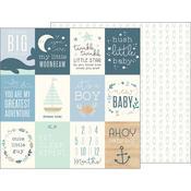 Ahoy Baby Boy Paper - Night Night - Pebbles - PRE ORDER