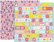 Pick Me Up Paper 8 - Pink Paislee - PRE ORDER