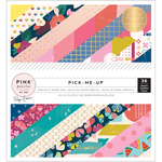 Pick Me Up 6 x 6 Paper Pad - Pink Paislee