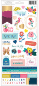 Pick Me Up Cardstock Stickers - Pink Paislee