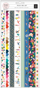 Pick Me Up Washi Book - Pink Paislee