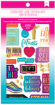 Fitness Sticker Book - American Crafts