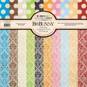 Double Dot Damask Collection Pack - Bo Bunny - PRE ORDER