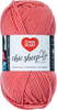 Mai Tai - Red Heart Chic Sheep Yarn This natural wool fiber is wonderful to work with and it is machine washable. Appeals to the higher-end stitcher who enjoys working with natural fiber. Weight category: 4. Content: 100% wool. Putup: 3.5oz/100g, 186yd/170m. Gauge: 16sx28r = 4in/10cm on size US8/5mm knitting needles. Suggested crochet hook size: H-8/5mm. Dyelotted: we try but are not always able to match dyelots. Care: machine wash, dry flat, do not iron, do not bleach, dry clean using P solvents. Comes in a variety of colors. Each sold separately. Imported.