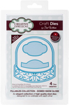 Fillables-Dome Snow Globe - Creative Expressions Craft Dies By Sue Wilson