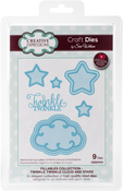 Fillables-Twinkle Twinkle Clouds & Stars - Creative Expressions Craft Dies By Sue Wilson
