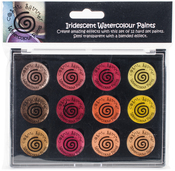 Autumn Sunrise - Cosmic Shimmer Iridescent Watercolor Palette Set 3